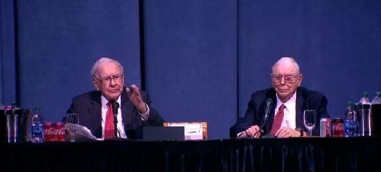 巴菲特股东大会:中国是个大市场,我和芒格都想多活几年
